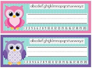 Owl nametags!: First Grade Freebies, Reading Street, Colors Owl, Education Ideas, Preschool Ideas, Owl Theme, Classroom Sets, Grade O' W L, Owls