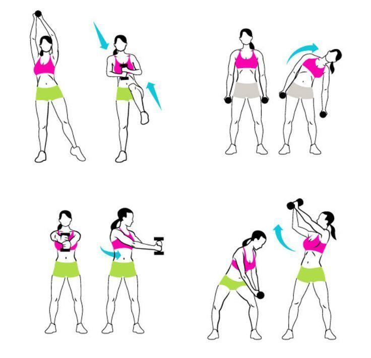 Een strakke buik kun je ook creëren zonder een oefeningsmat uit te hoeven rollen! Bij staande buikspieroefeningen gebruik je namelijk alle benodigde spieren.:
