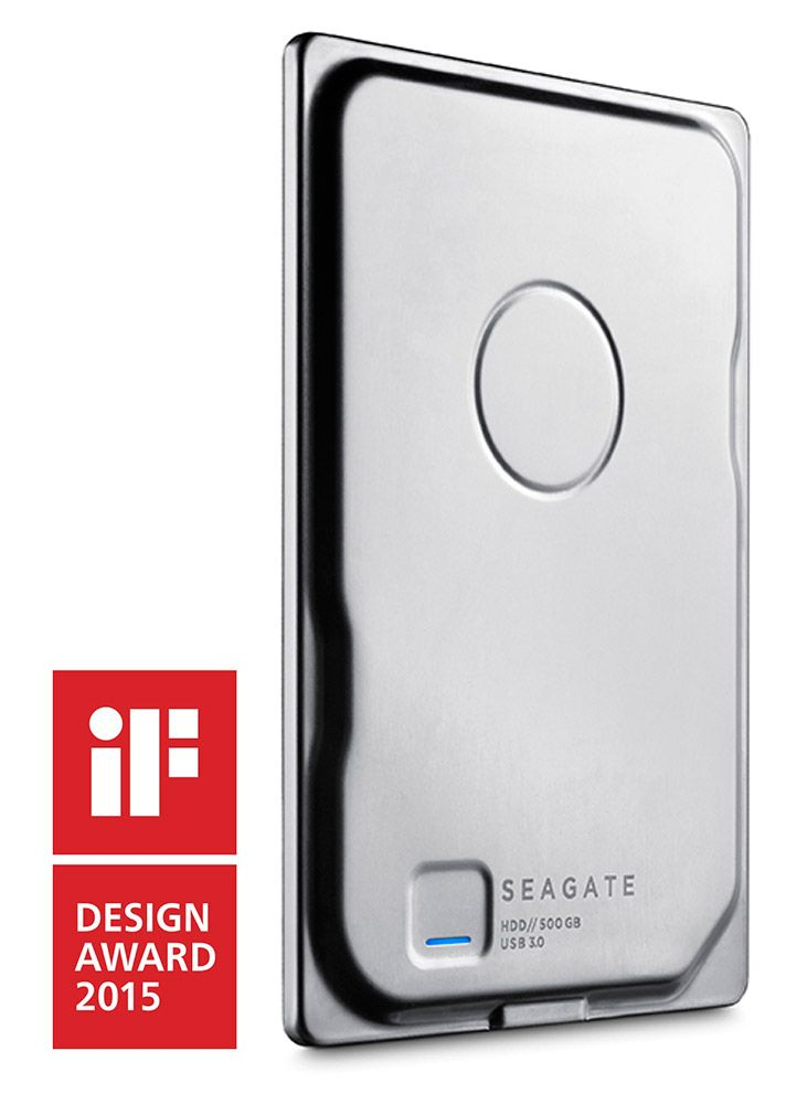 Seagate's Slimmest Portable Hard Drive, Seagate Seven, Has Won The Coveted iF Design Award | Seagate