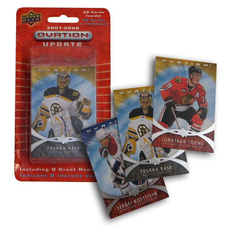 2007/8 Upper Deck Ovation NHL Update (25 Cards)