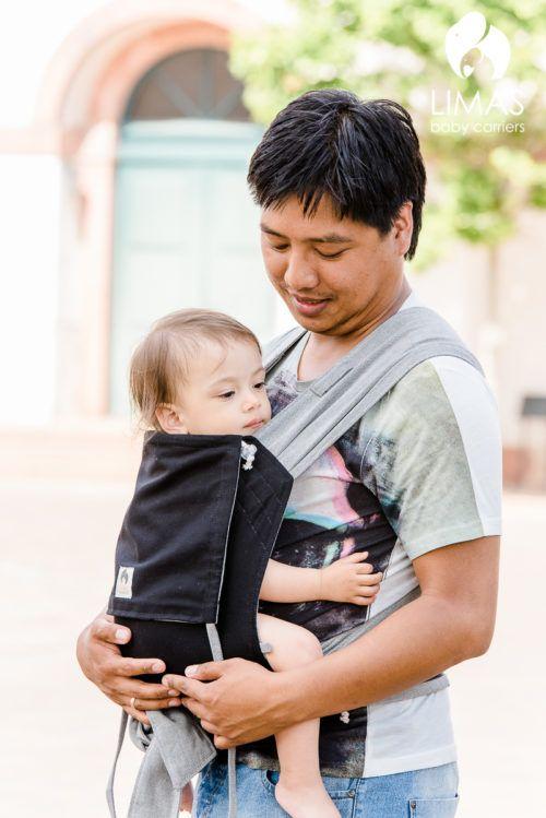 LIMAS  schwarz/grau Baby Carrier