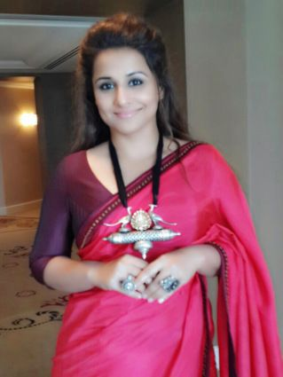 Vidya Balan, Brand  Ambassador, Melbourne Film Festival wearing Shruti Sancheti - https://planetbsocial.wordpress.com/2015/04/12/the-beautiful-vidya-balan-in-shruti-sancheti/