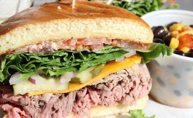 Delicious sandwiches, soups and more at The 'Wich On Sycamore