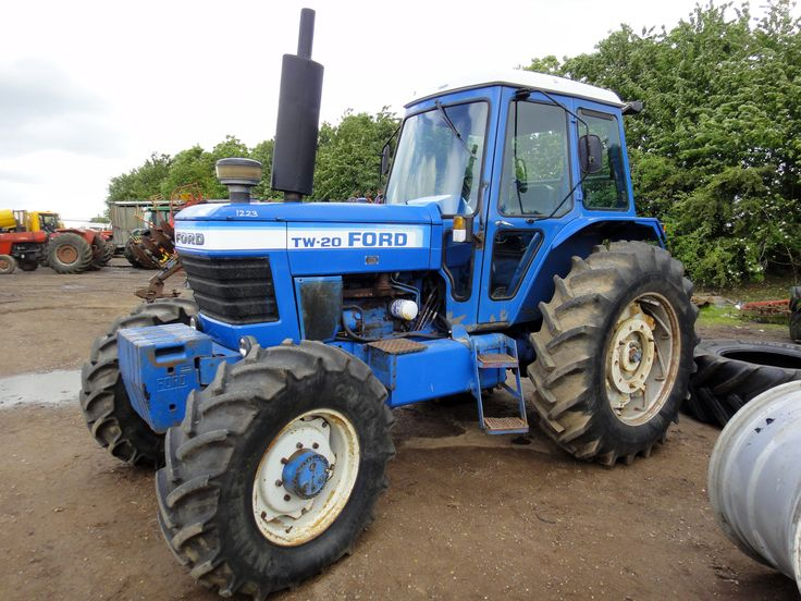 1968 Ford 2000 Diesel Tractor : Ford tw 입시 pinterest
