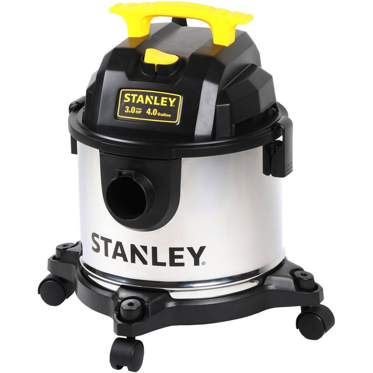 Stanley 4-Gallon Stainless Steel Wet/Dry Vacuum w/ Accessories $23.97 w/ Free Store Pickup Walmart.com #LavaHot http://www.lavahotdeals.com/us/cheap/stanley-4-gallon-stainless-steel-wet-dry-vacuum/162026?utm_source=pinterest&utm_medium=rss&utm_campaign=at_lavahotdealsus