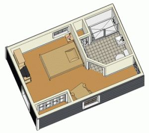 Modular floor plans in law suite and floor plans on pinterest for Modular in law suite additions