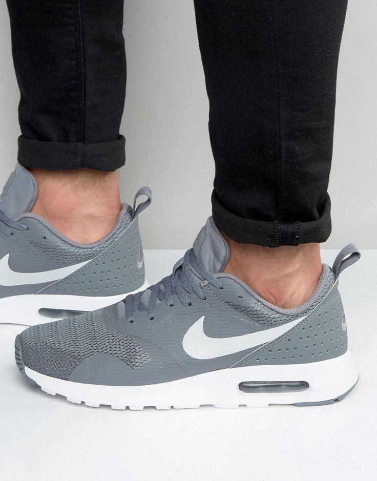 Nike Air Max Tavas Trainers In Grey 705149-021