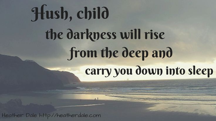 """Hush, child the darkness will rise from the deep and carry you down into sleep.""  Lyrics from ""Mordred's Lullaby"" with one of my favourite tour pictures from beautiful Perranporth, Cornwall  Hear the song at http://heatherdale.com/music or on my youtube channel, https://www.youtube.com/user/heatherdalemusic?&ab_channel=HeatherDale"