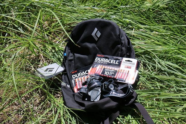 Duracell & Black Diamond Equipment Essentials Backpack