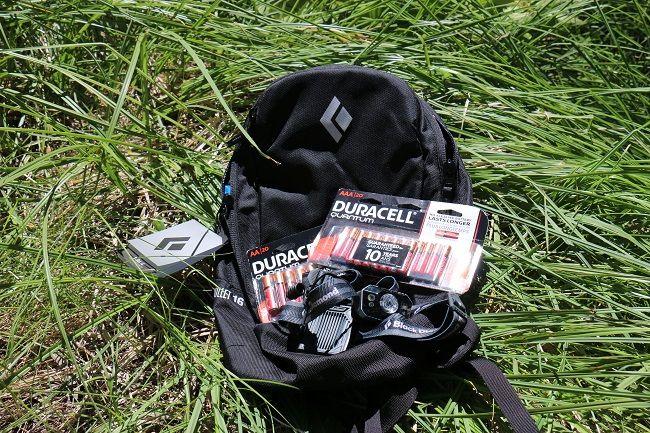 Duracell & Black Diamond Equipment Essentials Backpack