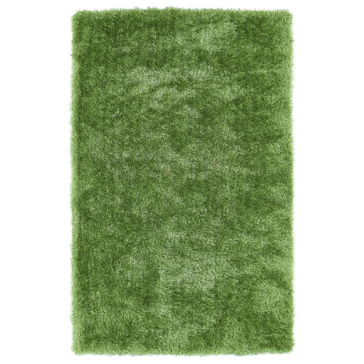 Hand-Tufted Silky Shag Lime Green Rug (9' x 12') - Overstock™ Shopping - Great Deals on 7x9 - 10x14 Rugs