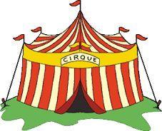 """Voici un petit projet cirque :   Une pièce de théâtre sur le cirque, """"le cirque contrario"""", pris dans ce livre, pour notre spectacle de noël... Ce livre je l'ai depuis des années. Les textes..."""