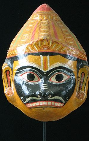 Hanuman Mask India Hanuman The Monkey God Was A Devout