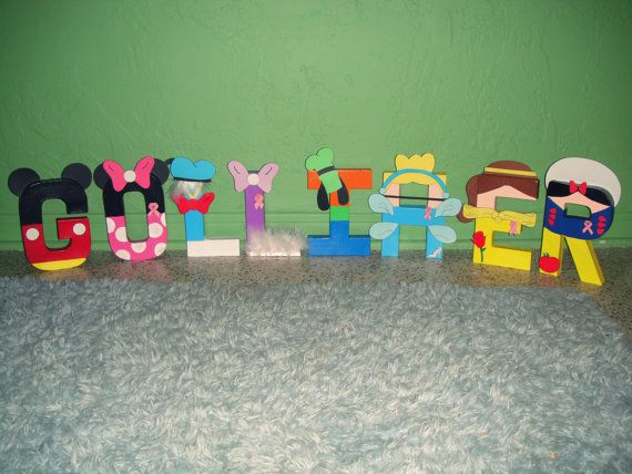41 best Character letters images on Pinterest Disney letters - character letter