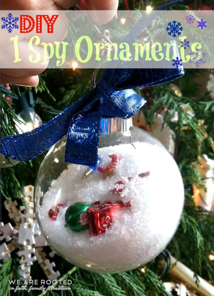 This is such a cute clever way to make an i spy - Ornament tapete weiay ...