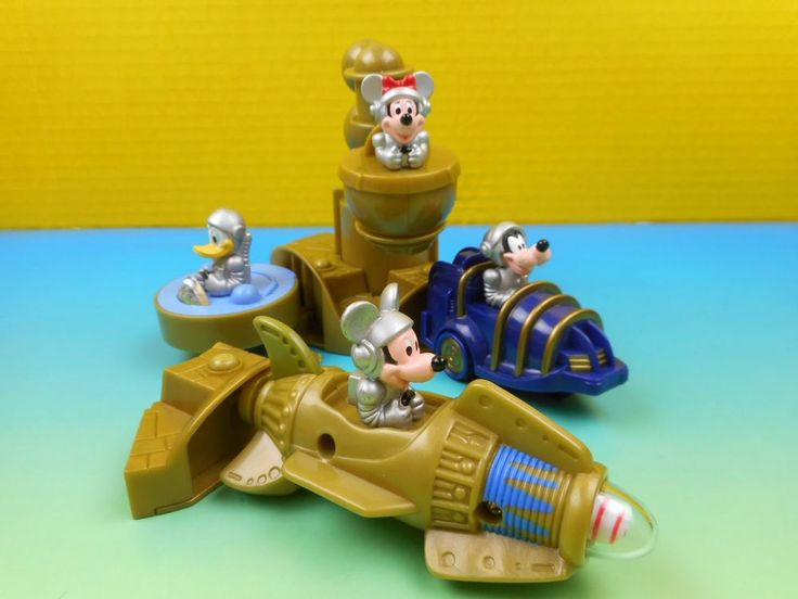 Disney Disneyland Tomorrowland 1999 McDonalds Happy meal TOYS, Complete sets  | eBay