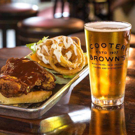Cooter Brown's Back Bar | Food