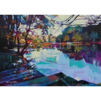 Doug Eaton - Cinderford - Linear Park - Renowned Forest of Dean Artist