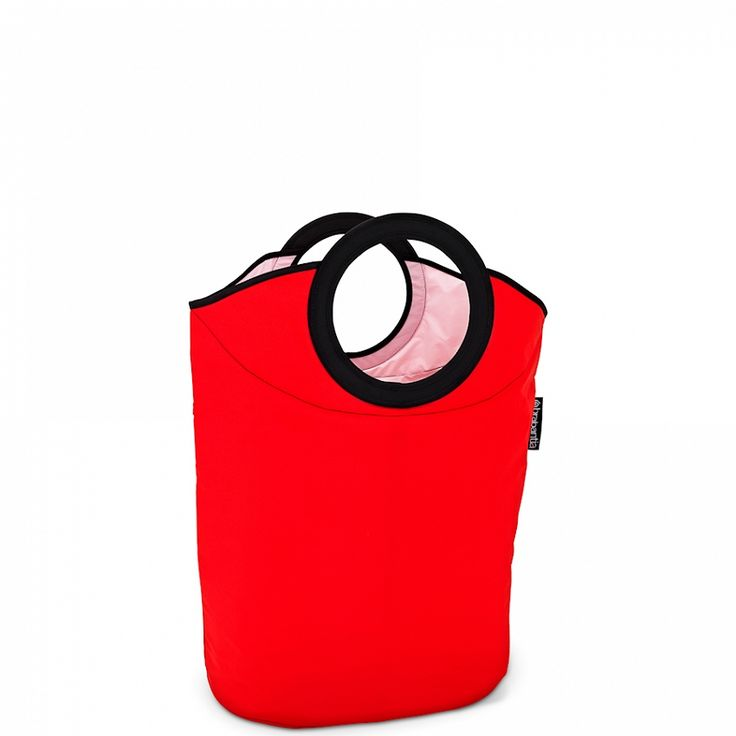 Składany kosz na bieliznę BRABANTIA Laundry Bag - czerwony