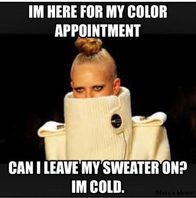 Well, that depends how much you like that sweater.... Lol