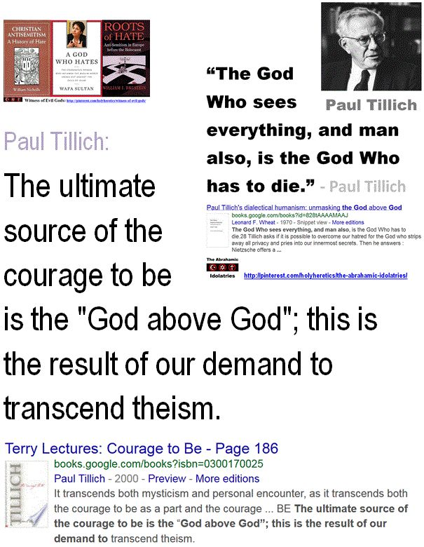 75 best paul tillich images on pinterest paul tillich inspiring paul tillich the ultimate source of the courage to be is the god above fandeluxe Images
