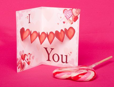 17 best images about 3D Pop up Cards – Valentines Pop Up Card