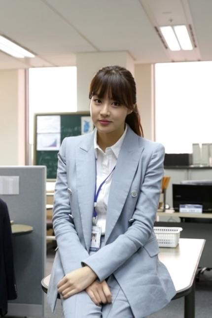 Misaeng: Kang So Ra as Ahn Young Yi