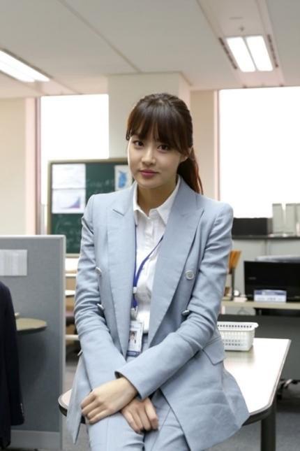 Misaeng: Kang So Ra as Ahn Young Yi