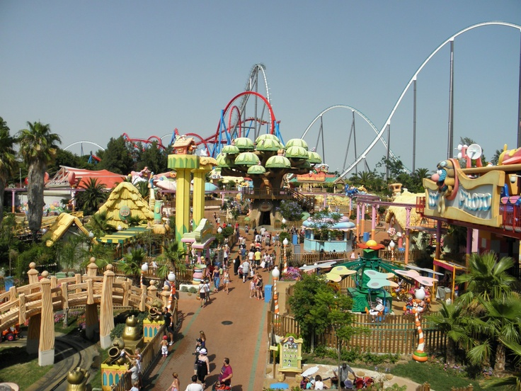 Port aventura :) Salou Spain :) awesome theme park! Been twice! :)
