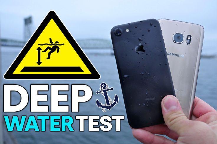 Cool Asus Chromebook Flip 2017: iPhone 7 vs S7 DEEP Water Test! How Deep Before It Dies?...  SmartPhone Stuff