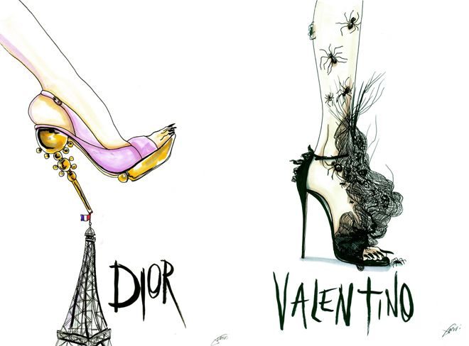 Dior and Valentino <3