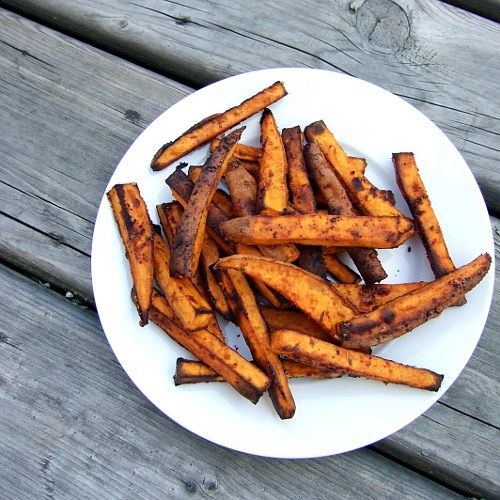 how to make crispy yam fries