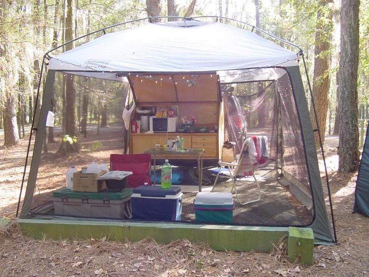 Best 25 Screen Tent Ideas On Pinterest Space Trailer