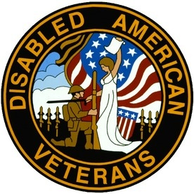 We support Disabled American Veterans.