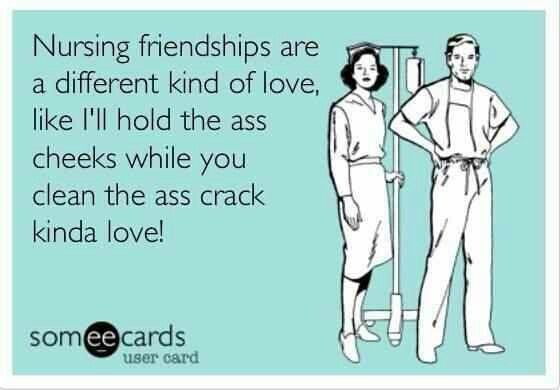 For my fellow nursing friends who understand :)