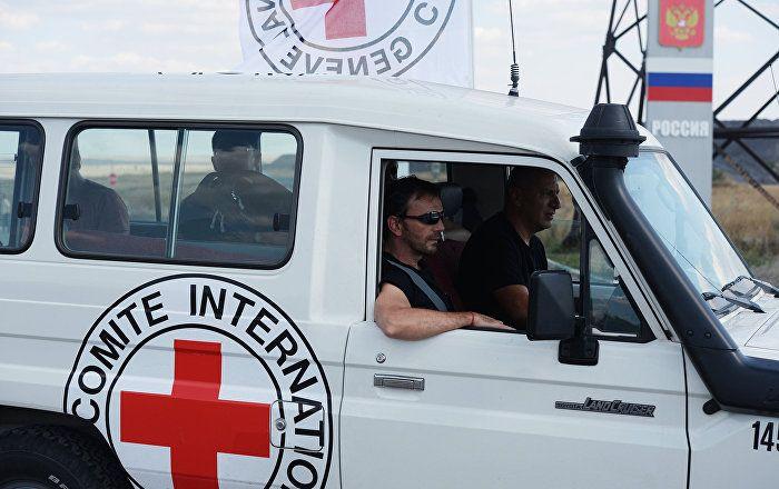 La Cruz Roja envía una caravana humanitaria a Donbás
