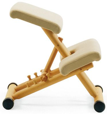 Great for working at a desk - saves your back. Think of it as pilates :-)