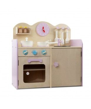 7 Piece Wooden Kitchen Set