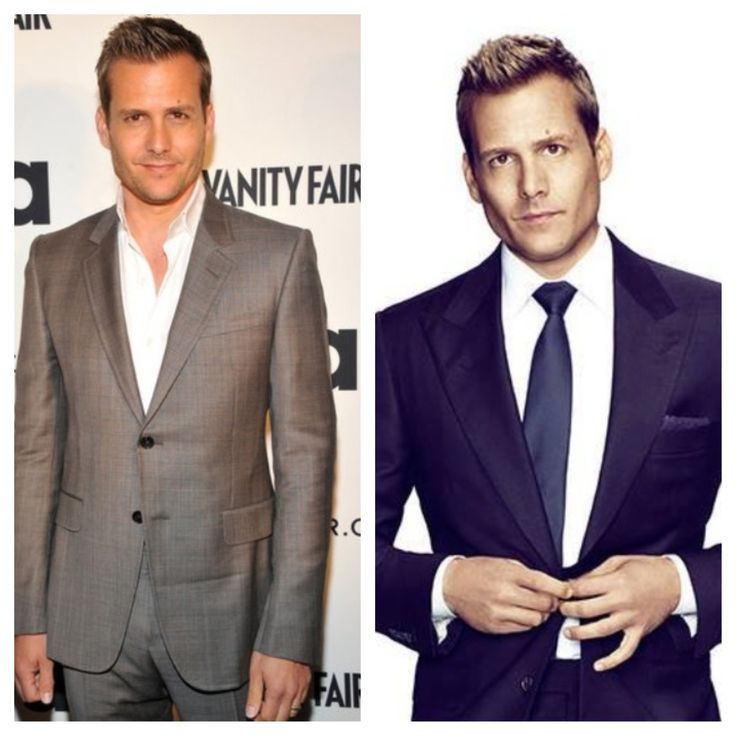 A well tailored suit is to women, what lingerie is to men. If only all men looked as good as Harvey Specter