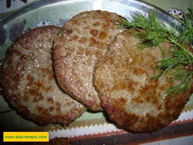Котлеты для бургера рецепт
