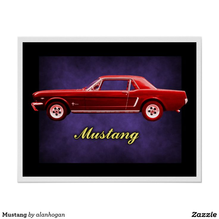 Sold! Thanks to the buyer of this 'Mustang' Poster from Zazzle. #musclecars #usa #motors #cars #red #posters #car #zazzle #prints #wheels #america #americanclassic #mustang #ford #fordmustang #design #typography #purple #sales