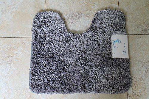 From 15.99 Cazsplash Luxury Microfibre Pedestal Mat (grey)