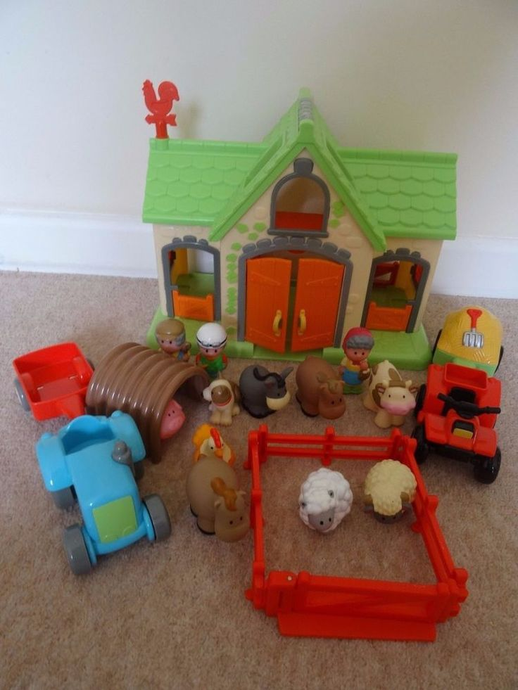 ELC Happyland Farm Set Animals Tractor Figures sounds in Toys & Games, Pre-School & Young Children, Early Learning Centre (ELC) | eBay!
