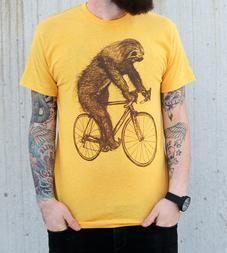 Sloth On A Bike T-Shirt