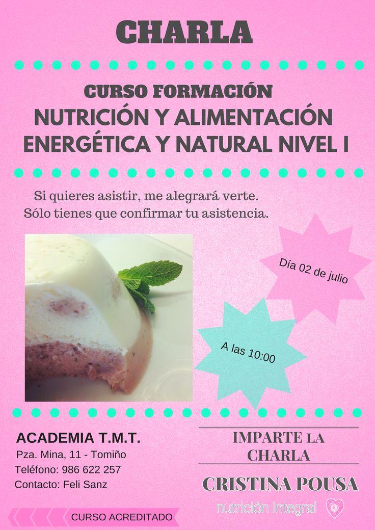 Formación Nutrición y Alimentación Energètica y Natural. Próximo curso presencial