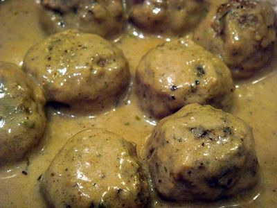 Swedish Meatballs In Cream Sauce #dinner