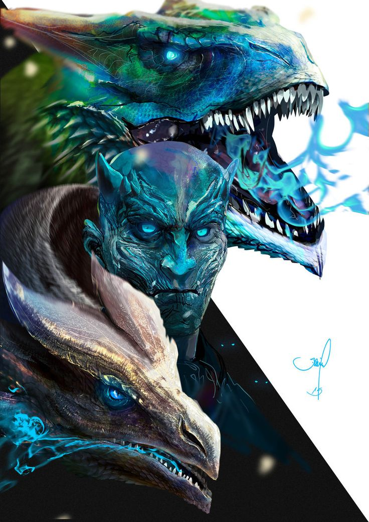 Game of Thrones - Night King by danielgrell23 on DeviantArt