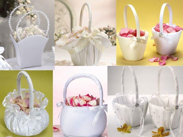 Wholesale Flower Girl Baskets Wedding Decor Toronto Niagara