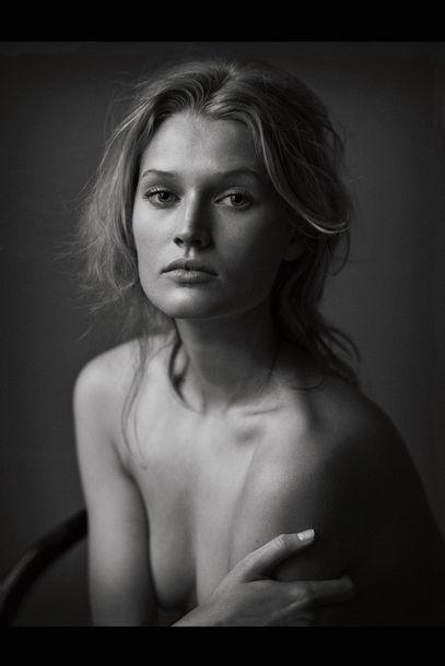 Toni Garrn by Lindbergh in Vogue Germany June 2012