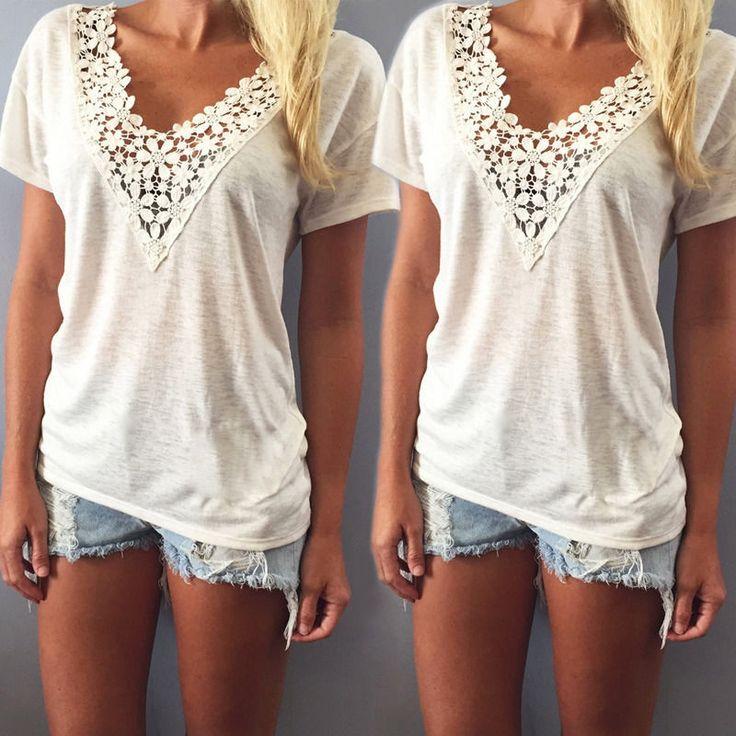 Bílé tričko s krajkou – VELIKOST L Na tento produkt se vztahuje nejen zajímavá sleva, ale také poštovné zdarma! Využij této výhodné nabídky a ušetři na poštovném, stejně jako to udělalo již velké množství spokojených …
